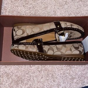 Coach Loafers BNWT